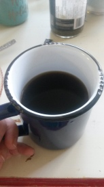 How I take my coffee.