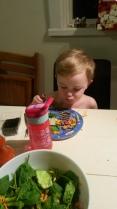 Boy#2 dinner