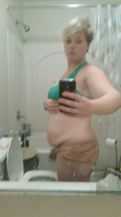 getting saggy on day 15!