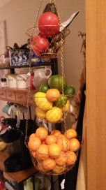 my bevvy of citrus! So yummy!