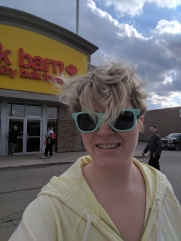 Shopping with my own containers at Bulk Barn
