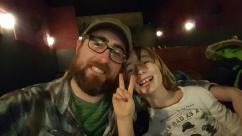 Hubs and Boy#1 on their Valentine's date