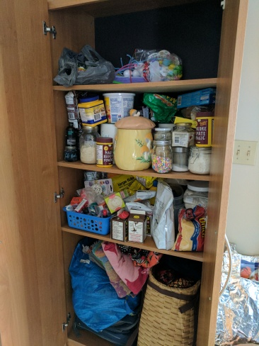 The offending pantry