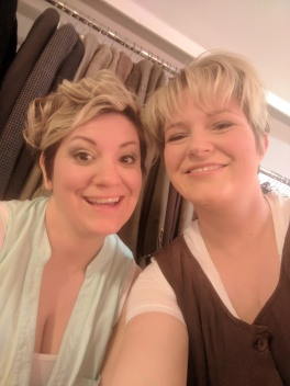 """One of my newest friends """"Ollie"""" played by our new Genral Manager Cara. I am so glad I was honoured with the privilege of performing onstage with her."""