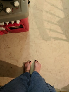 obligatory foot photo