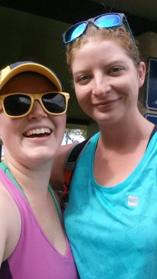 Kate and I after we completed the Maitland Del Camino 50K hike. I loved sharing that day together. She empowers me.